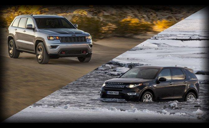 استطلاع رأي أيهما تفضل جيب جراند شيروكي أم لاند روفر ديسكفري سبورت Jeep Vs Land Rover 2017 المربع نت