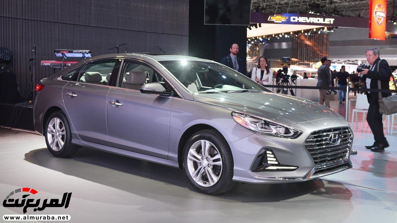 هيونداي سوناتا 2018 المحدثة تحصل على تحديثات خارجية وداخلية صور وفيديو واسعار Hyundai Sonata المربع نت